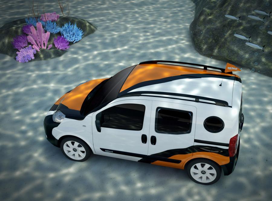 Nemo concetto przypomina małego bohatera disneyowskiej bajki