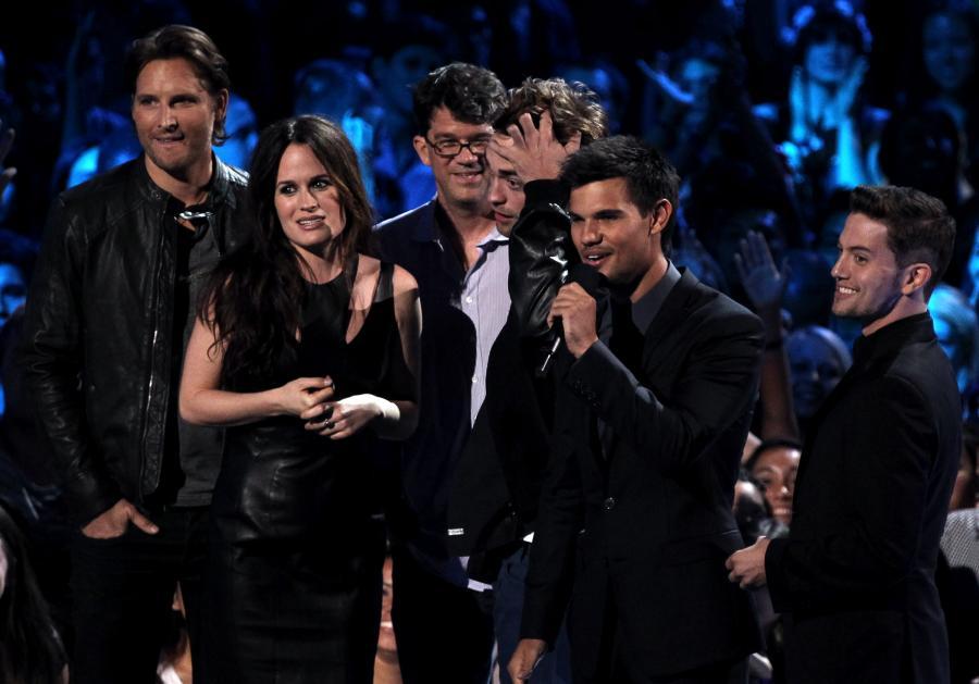 "Gwiazdy ""Sagi: Zmierzch"" na gali MTV VMA"