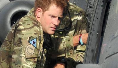 Książę Harry w wojsku