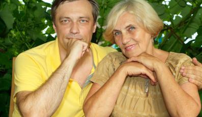 Syn z mamą