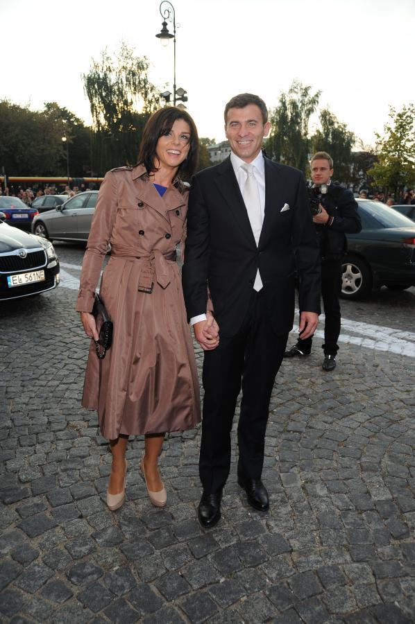 Wojciech Olejniczak z żoną