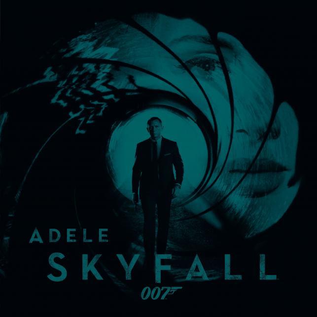"""Adele i """"Skyfall"""" jeszcze poza zestawieniem"""