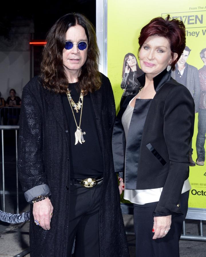 """Ozzy i Sharon Osbourne na premierze """"Siedmiu psychopatów"""""""
