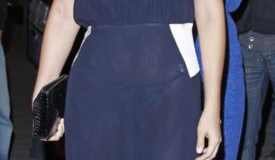 Prześwitująca suknia Alicji Bachledy-Curuś