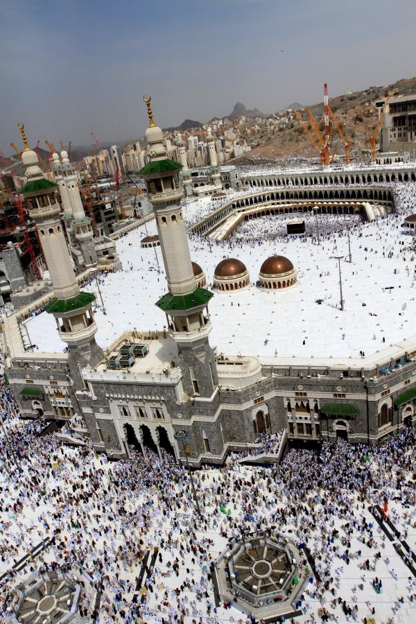 Pielgrzymka muzułmanów do Mekki
