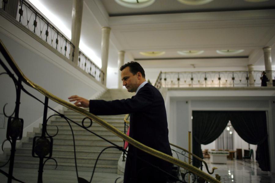 14.11.2007 Warszawa sejm  nz Radoslaw Sikorski kandydat na ministra spraw zagranicznych w przyszlym rzadzie Fot. Wojciech Grzedzinski