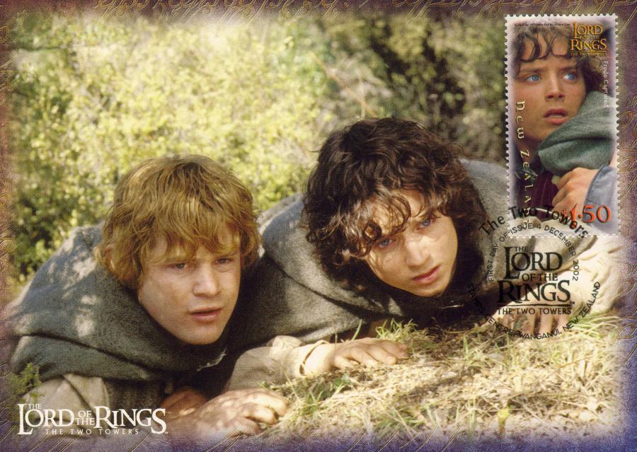 Sam i Frodo - dwa hobbity z \