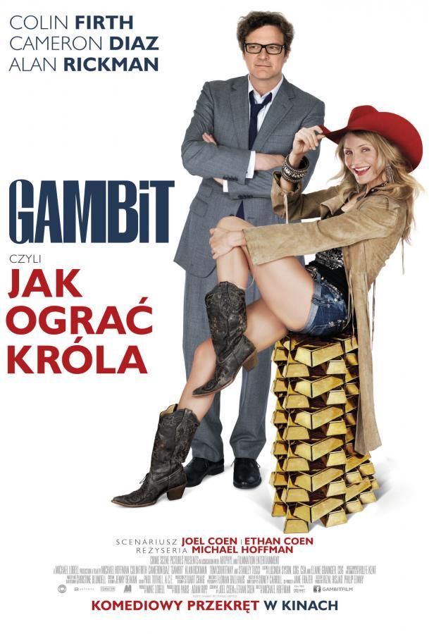 """""""Gambit, czyli jak ograć króla"""" w kinach od 21 grudnia"""