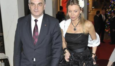 Iwona Grzymała i Waldemar Pawlak