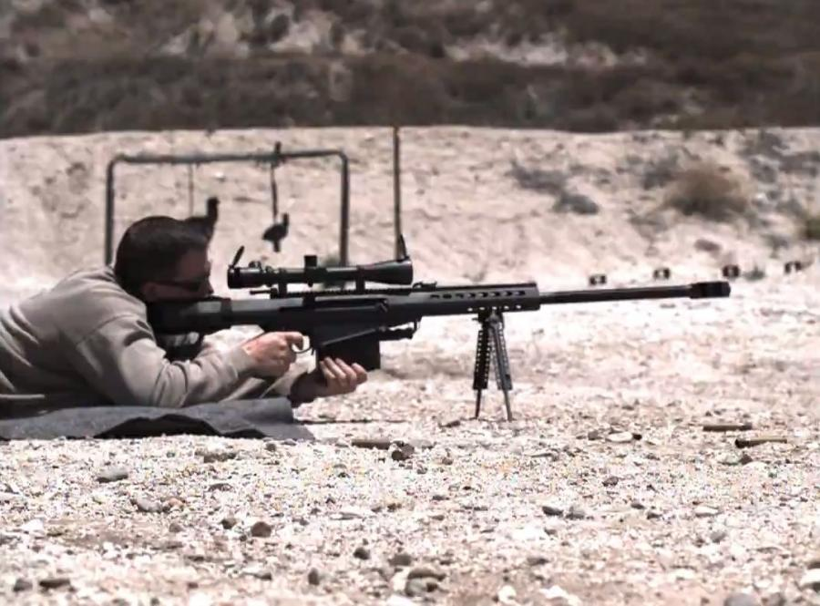 Barrett 0,50 Sniper Rifle Caliber