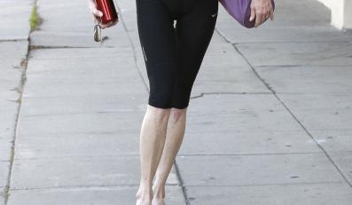 Skrajnie szczupłe nogi Melanie Griffith