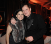 Quentin Tarantino i producentka Shannon McIntosh na After Party w hotelu Beverly