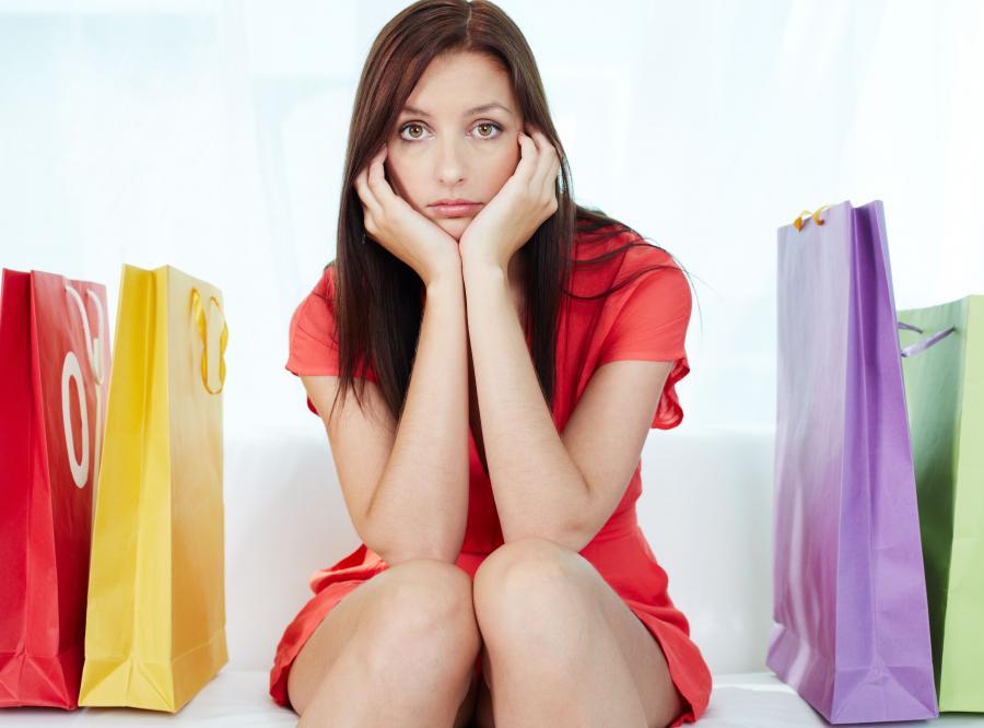 Zakupy nie są już modne