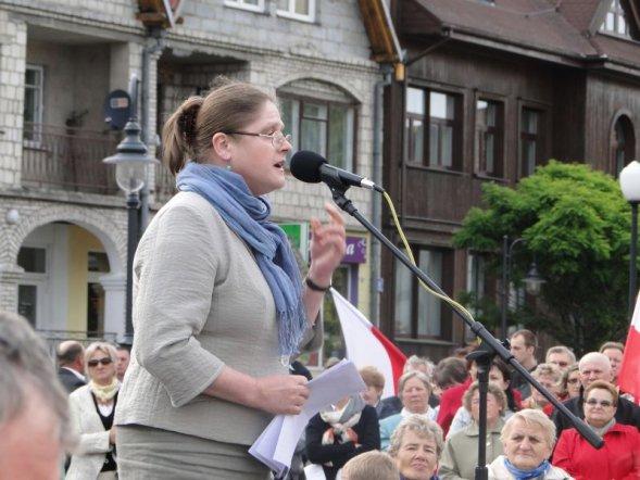 Krystyna Pawłowicz, fot. ze strony krystynapawlowicz.pl