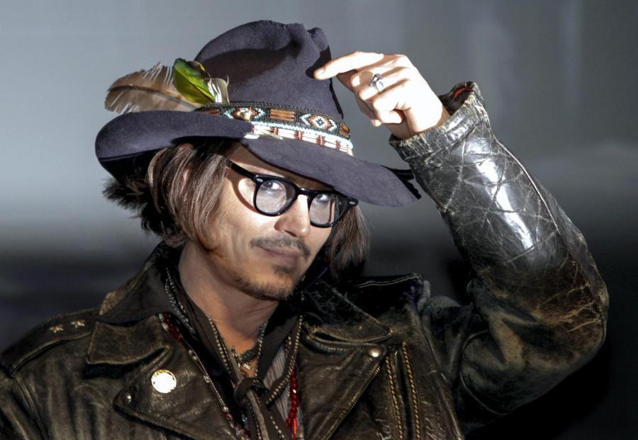 Johnny Depp gangsterem w \