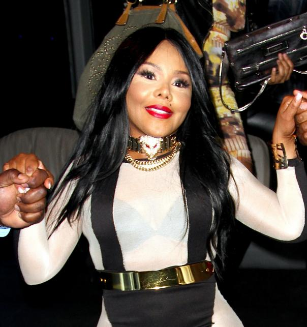 Lil'Kim na ulicach West Hollywood – 1 luty 2013 roku