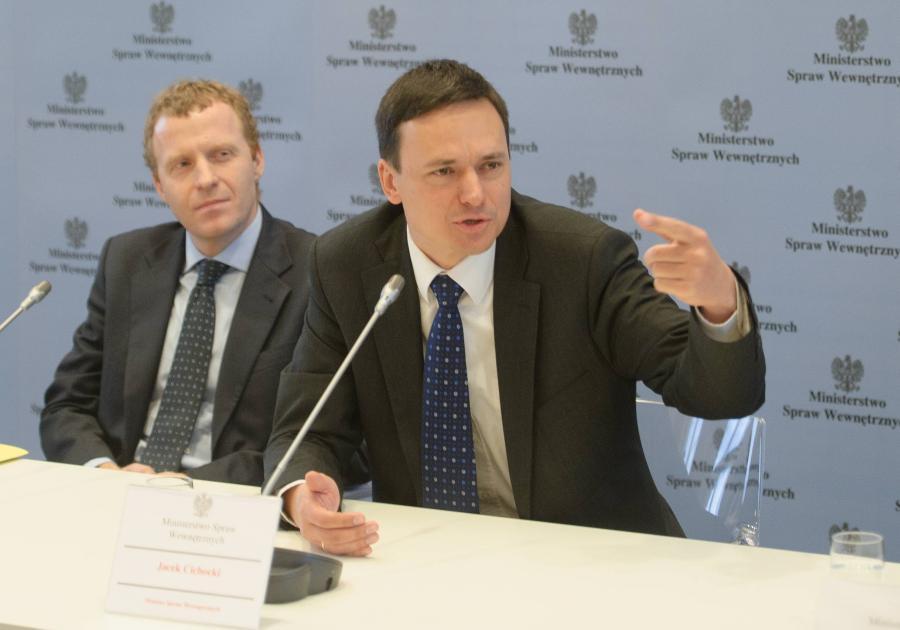 Michał Deskur i Jacek Cichocki