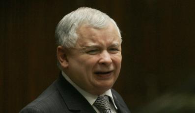 Jarosław Kaczyński piętnuje buntowników