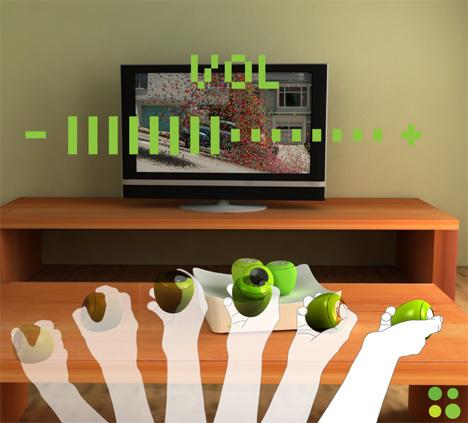 Zielone jabłuszko zastąpi pilota do TV