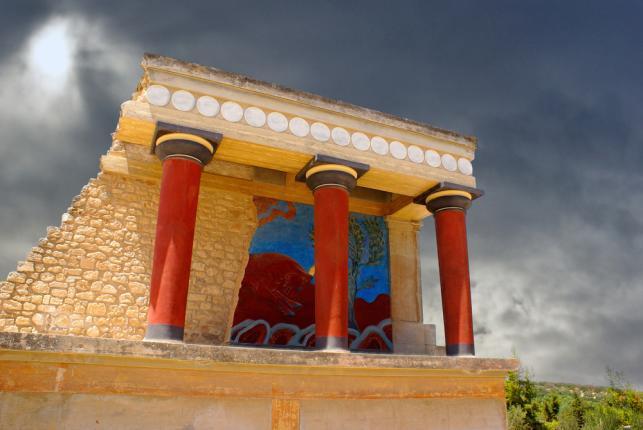 Minojski pałac Knossos, Kreta
