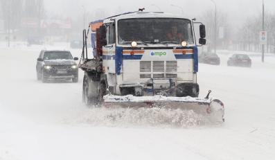 Zimowe warunki na drodze