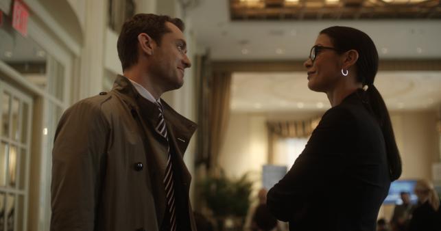 """Catherine Zeta-Jones i Jude Law w filmie """"Panaceum"""""""
