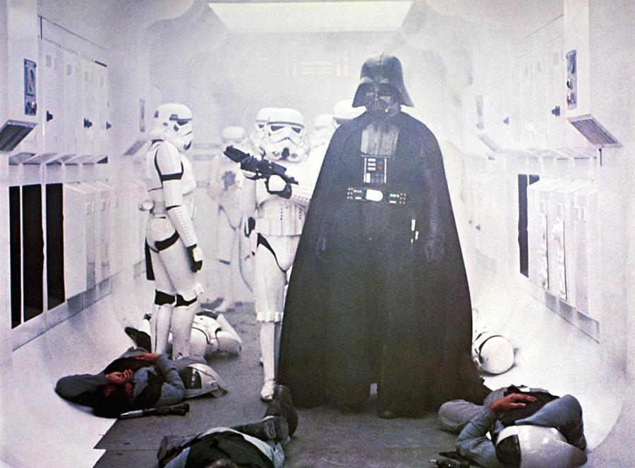 "2. Darth Vader (saga ""Gwiezdne wojny"")"