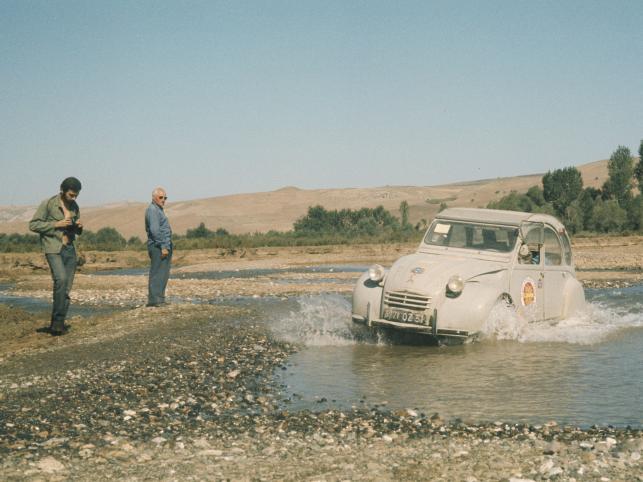 Samochód zaprezentowano na Salonie paryskim w 1948 roku