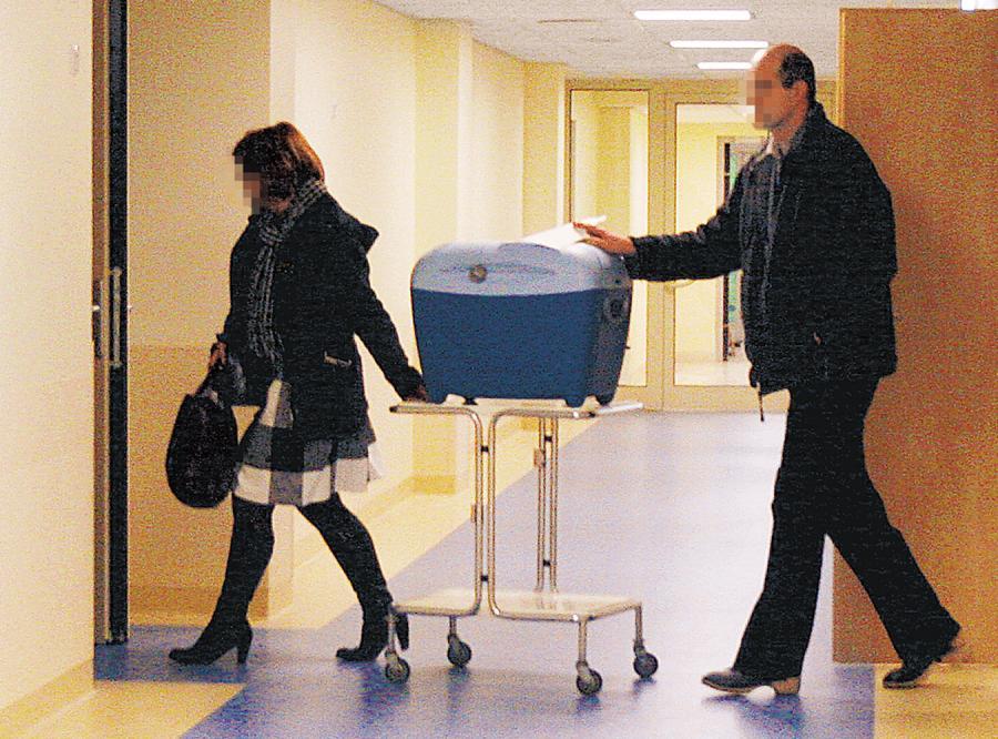 Nerka Przemysława Salety w drodze na salę operacyjną