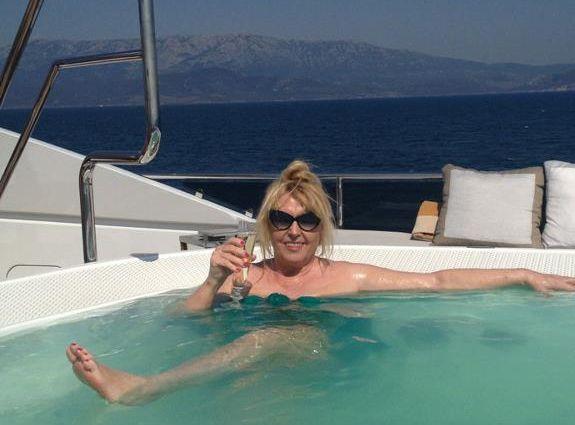 Maryla Rodowicz w Turcji / zdjęcie z oficjalnego profilu piosenkarki