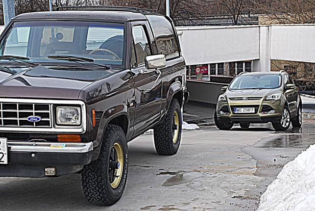 Ford bronco II i ford kuga
