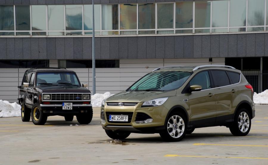 Ford kuga - 6. miejsce w zestawieniu