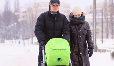Kasia Cichopek z rodziną na zimowisku