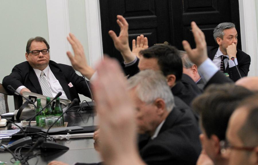 Głosowanie sprawie odwołania Ryszarda Kalisza