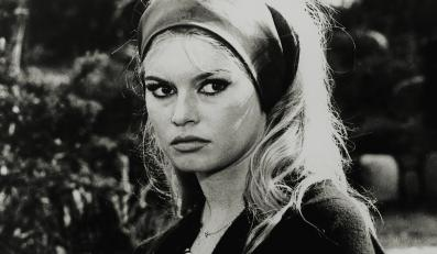 "Brigitte Bardot w filmie ""Pogarda"""