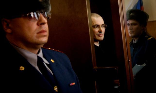 Urodziny za kratkami. Kiedy wypuszczą Chodorkowskiego? ZDJĘCIA