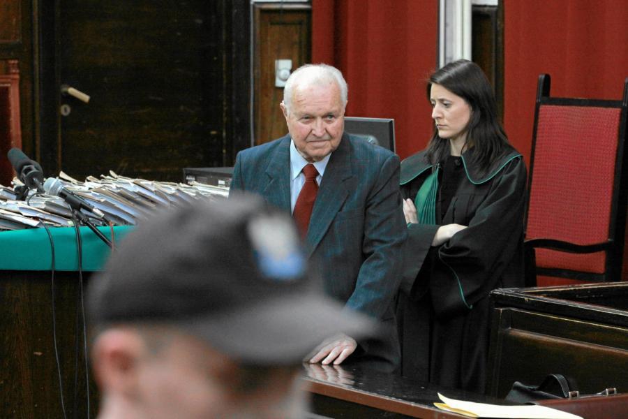 Stanisław Kania w sądzie