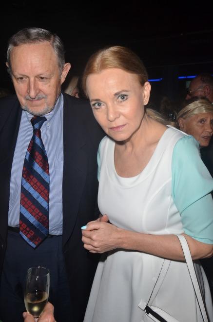 Laura Łącz z przyjacielem