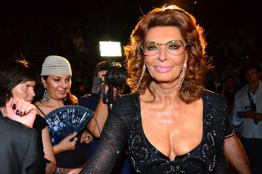 Sophia Loren zagra u syna