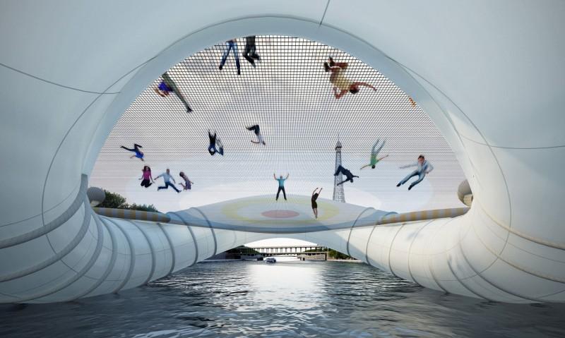 Most-trampoliona