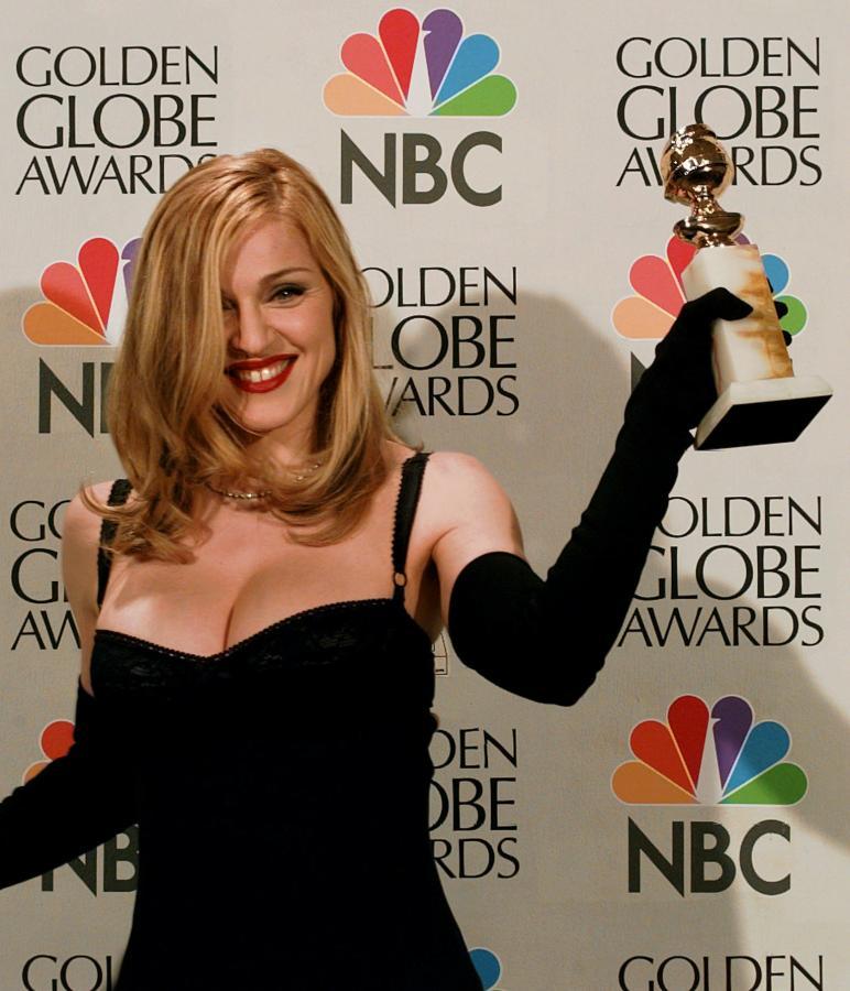 Madonna ze Złotym Globem dla najlepszej aktorki w 1997 roku