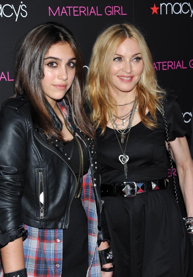 Madonna z córką Lourdes w 2010 roku