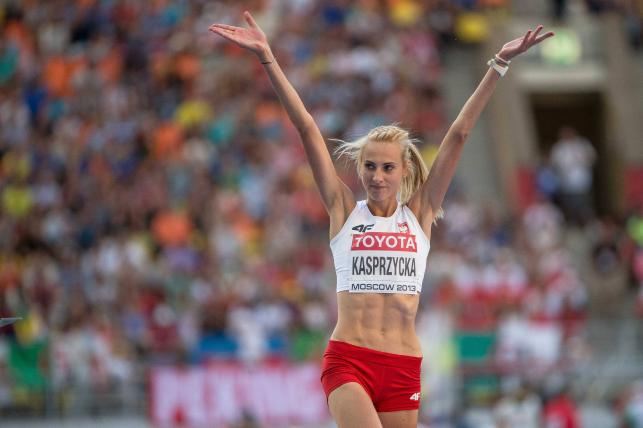 Długonoga Polka miss Mistrzostw Świata w Moskwie
