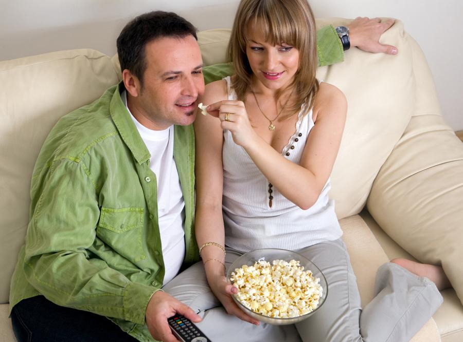 Popcorn podnosi napięcie... w spodniach!