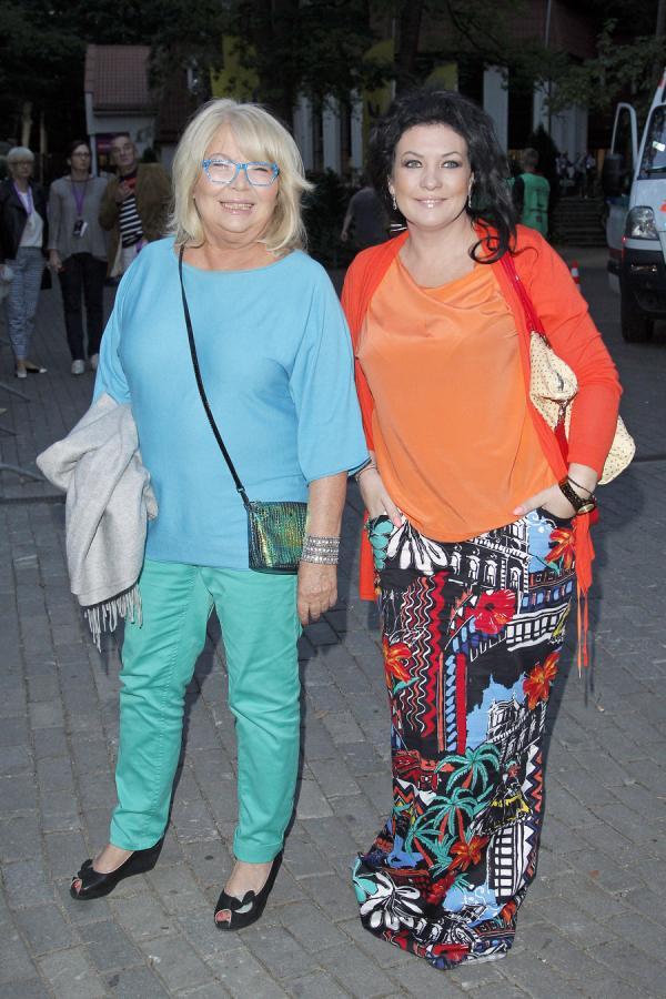 Nina Terentiew i Alicja Węgorzewska na Sopot TOP of the TOP Festival 2013