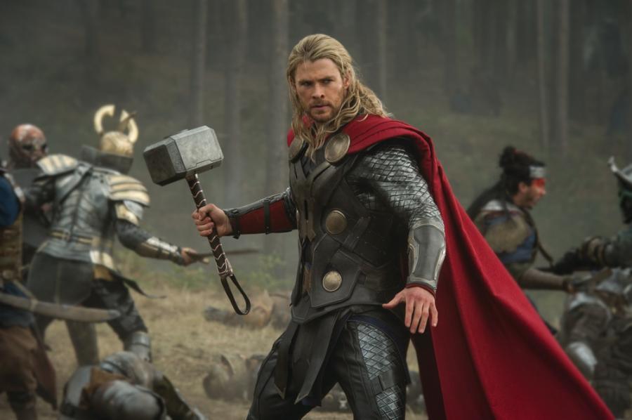 Chris Hemsworth w filmie \