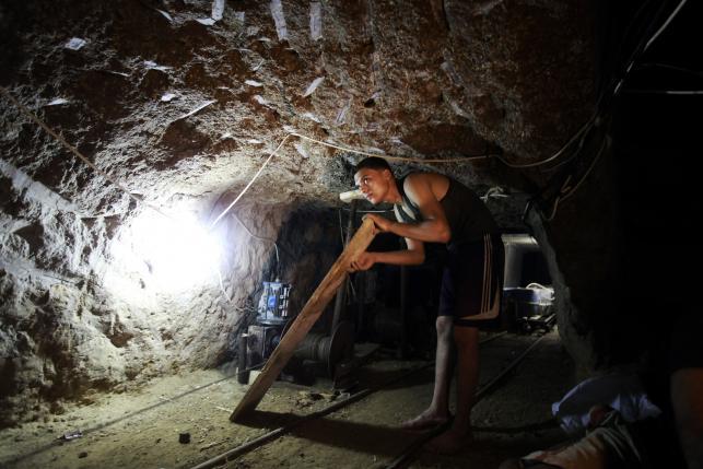 Strefa Gazy - Egipt. Podziemne tunele przemytników