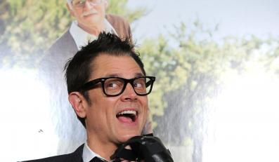 "Johnny Knoxville na premierze filmu ""Jackass: Bezwstydny dziadek"""