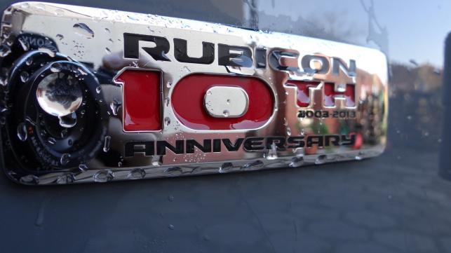 """Jeep wrangler rubicon """"10th Anniversary Edition"""""""