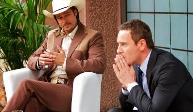 "Brad Pitt i Michael Fassbender w ""Adwokacie"""